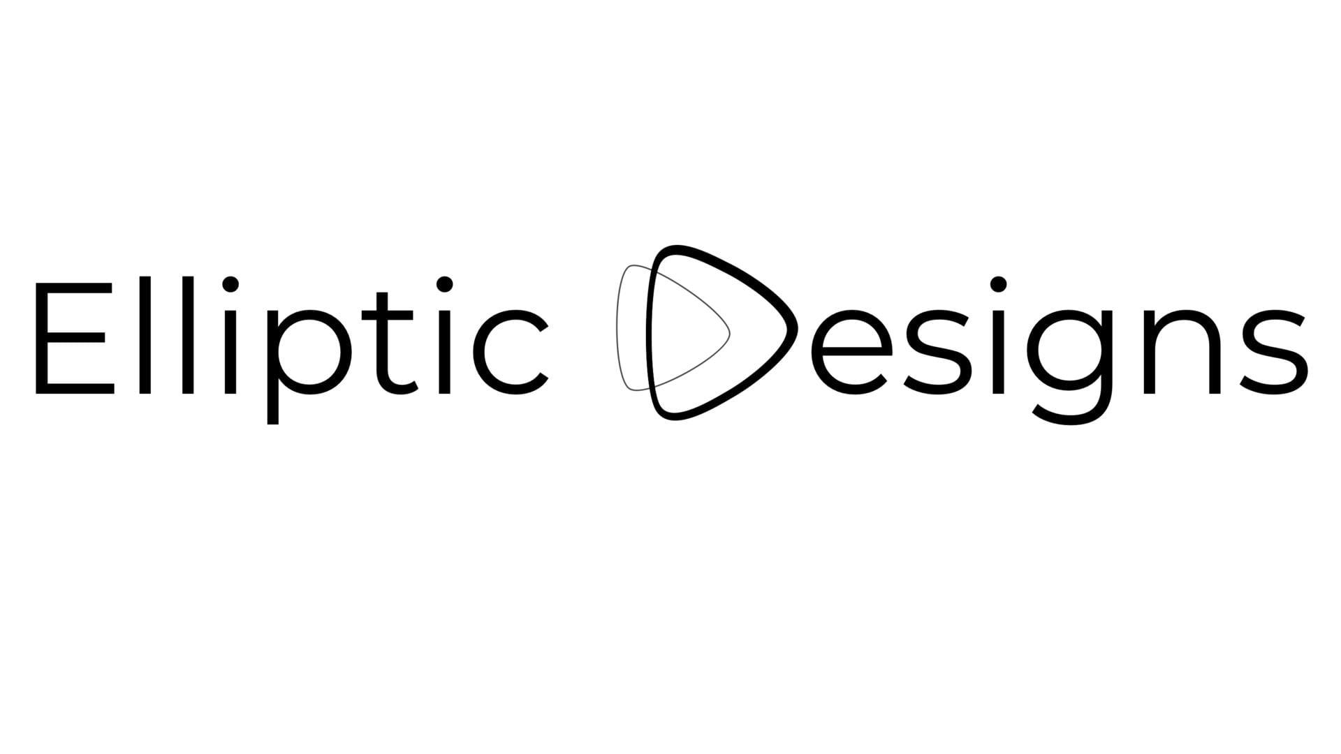 Elliptic Designs